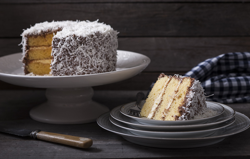 Lamington Layer Cake