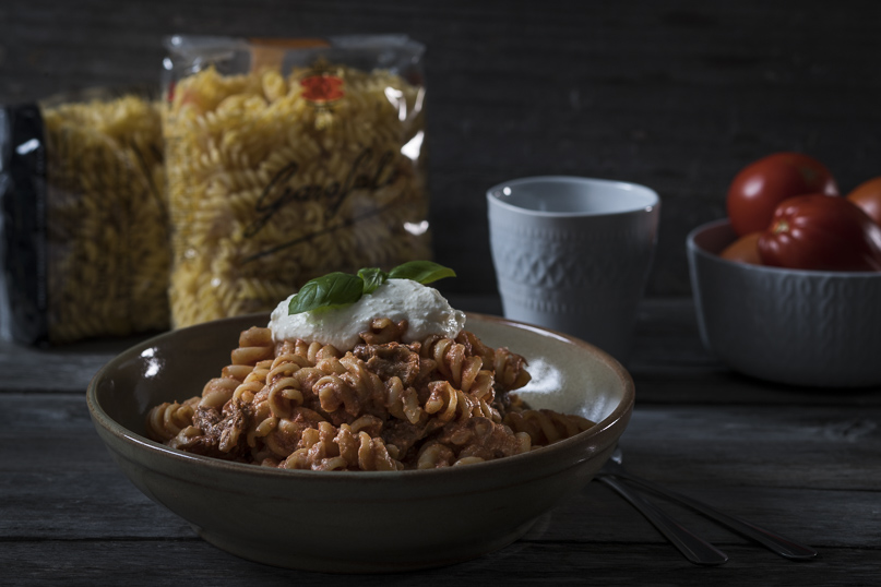 FUSILLI WITH RICOTTA